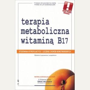 TERAPIA METABOLICZNA WITAMINĄ B17  Oficyna Wydawnicza 3.49 Praca zbiorowa